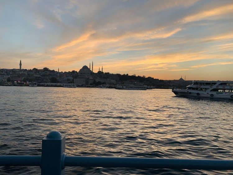 Hafen von Istanbul