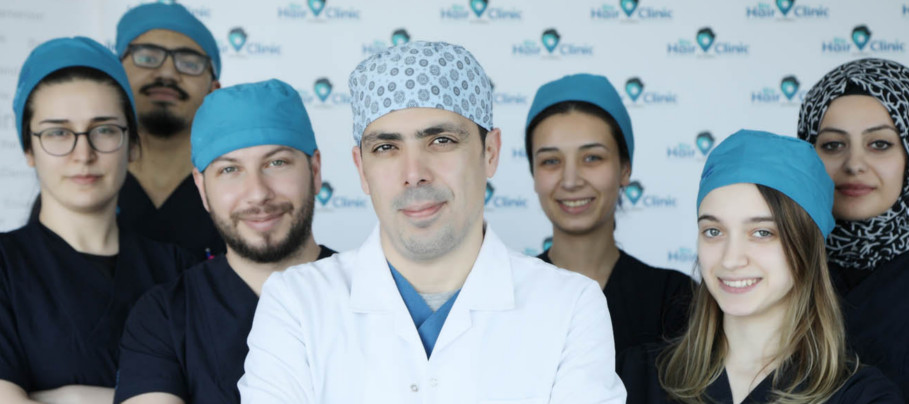 Our baldness treatment team in Istanbul