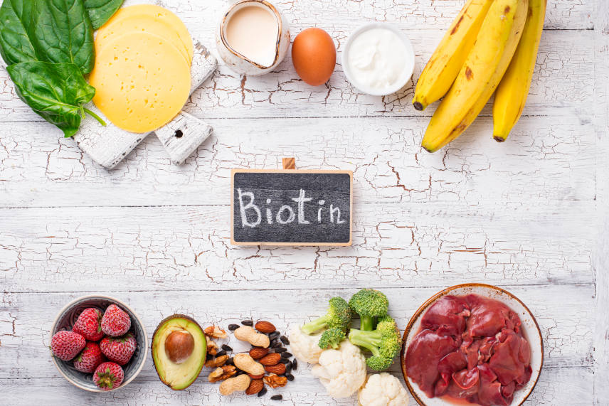 the edible sources of biotin for hair