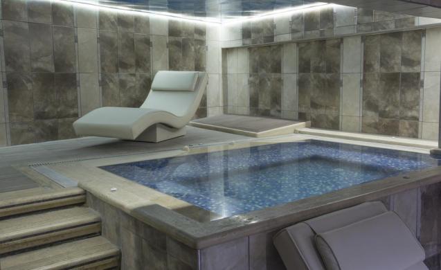Zona de Spa en el Hotel Reis Inn - Trasplante Capilar Turquía