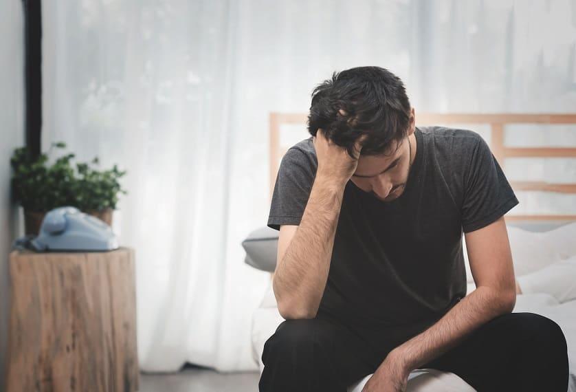 Estrés: causa de calvas en la barba