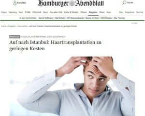 Haartransplantation Türkei - Hamburger Abendblatt