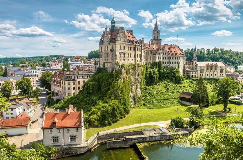 Schönes Foto einer alten Deutschen Burg