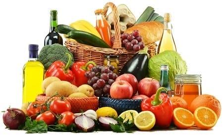 Gemüse und Obst als Ernährung gegen Haarausfall