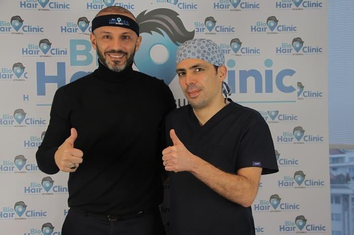 Haartransplantation Türkei vorher nachher - Haartransplantation Vergleich