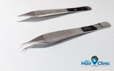 Instrumente für die Haartransplantation