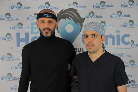 Regenerationen der Haare - Patient mit Dr. Ibrahim nach der Haartransplantation OP