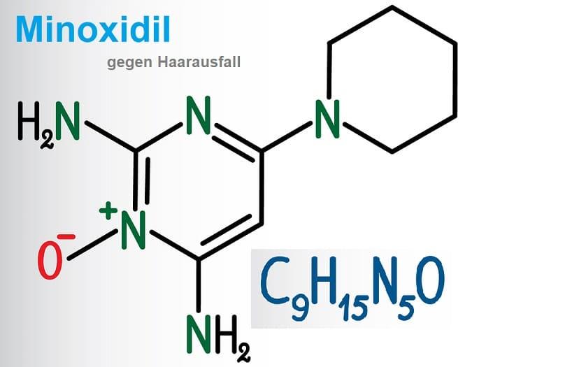 Die chemische Bezeichnung für Minoxidil
