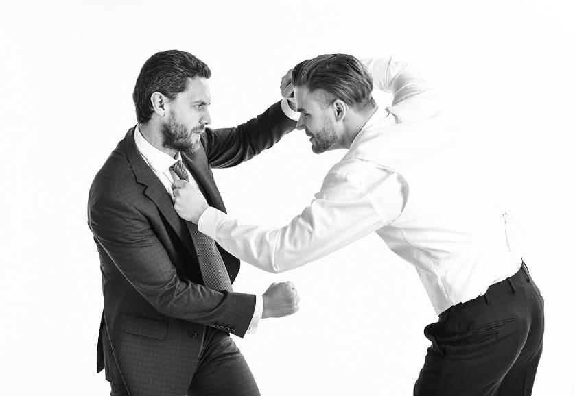 Kampf zwischen zwei Männern