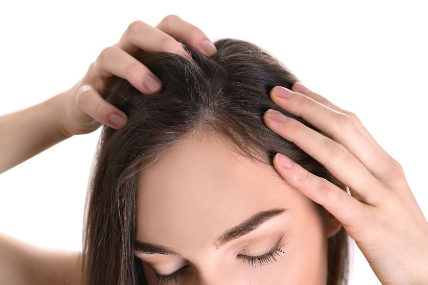 Erblich bedingter Haarausfall bei Frauen
