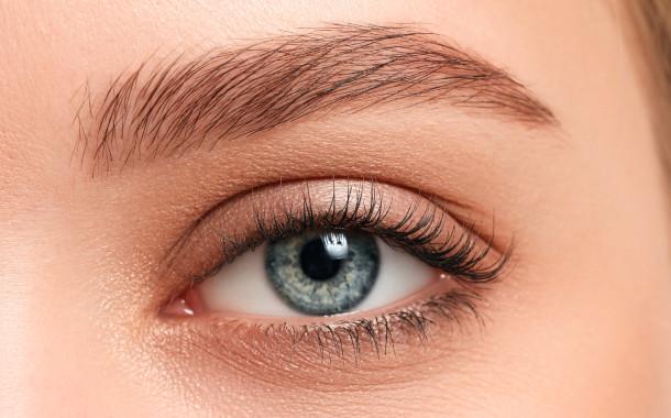 Close-Up Foto von einer Augenbraue